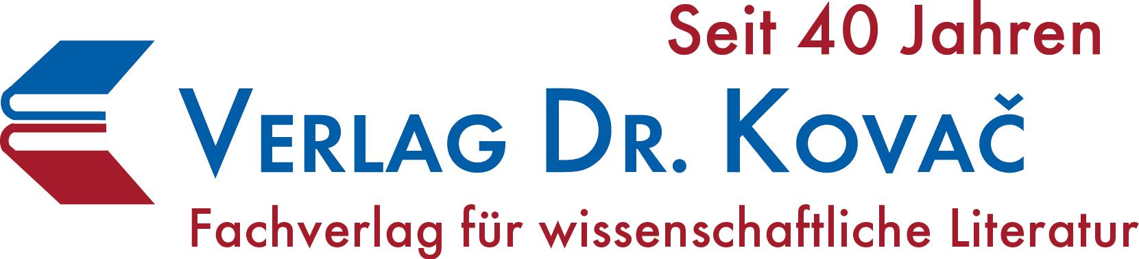 Logo Wissenschaftsverlag Dr. Kovač