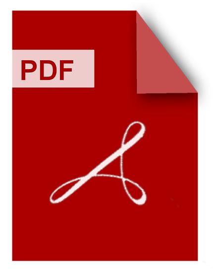 PDF ist das Standardformat für Druckvorlagen