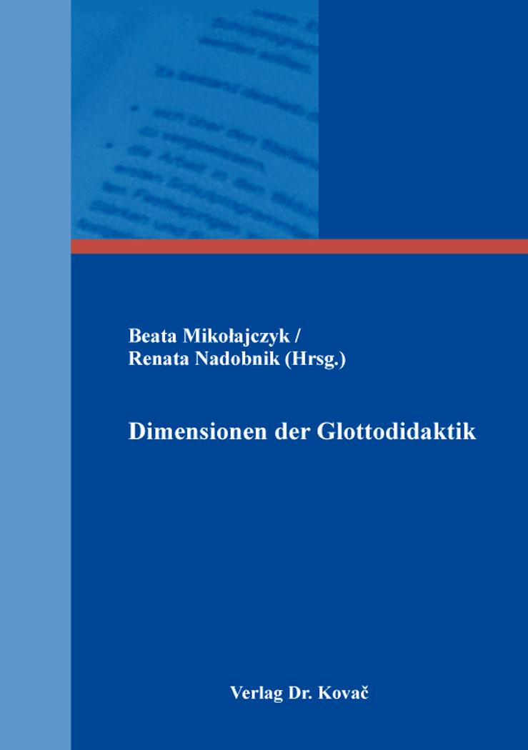 Cover: Dimensionen der Glottodidaktik
