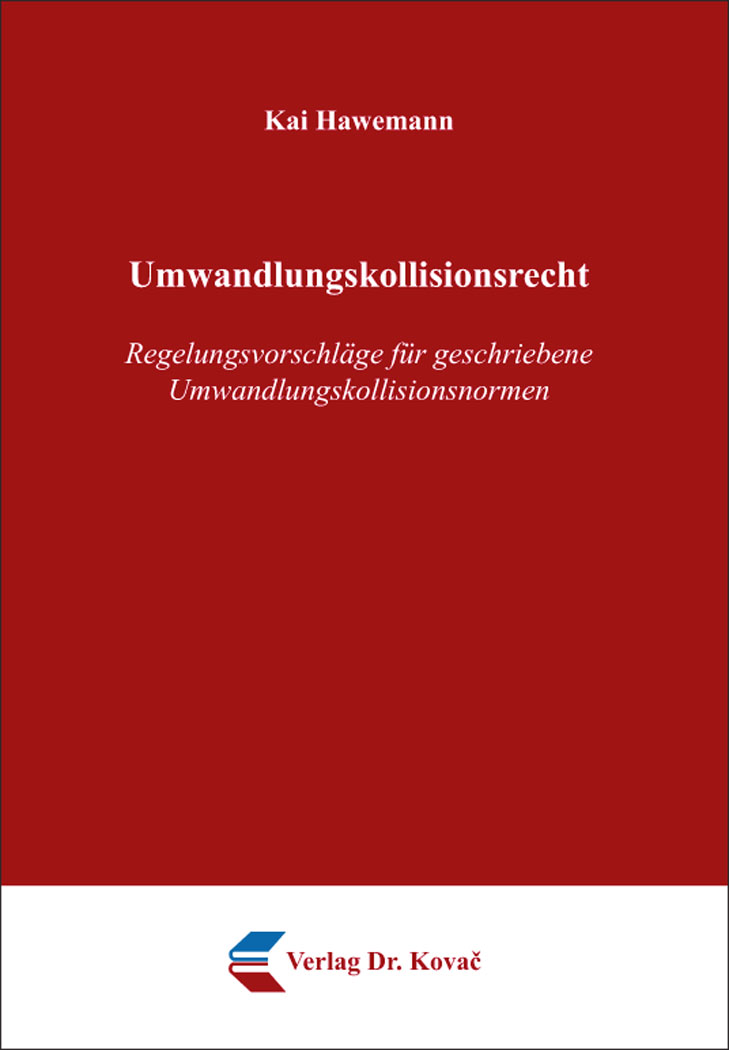 Cover: Umwandlungskollisionsrecht