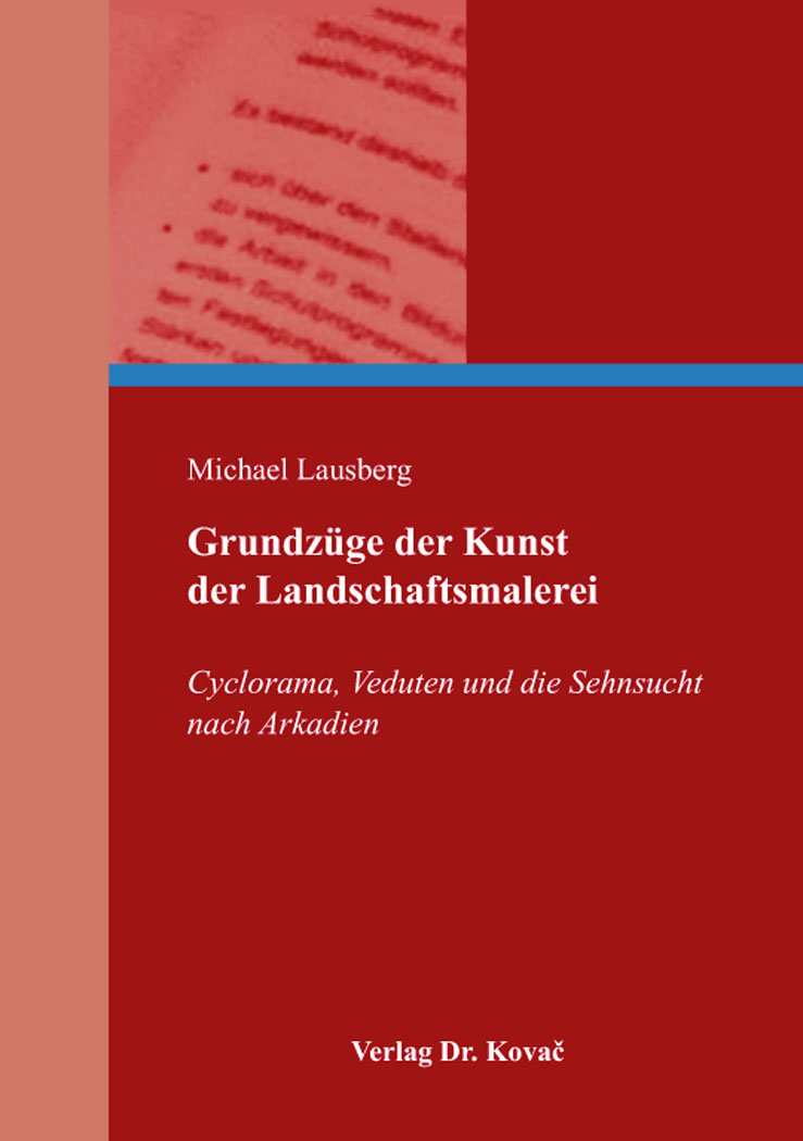 Cover: Grundzüge der Kunst der Landschaftsmalerei