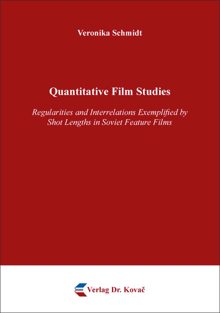 Cover: Quantitative Film Studies
