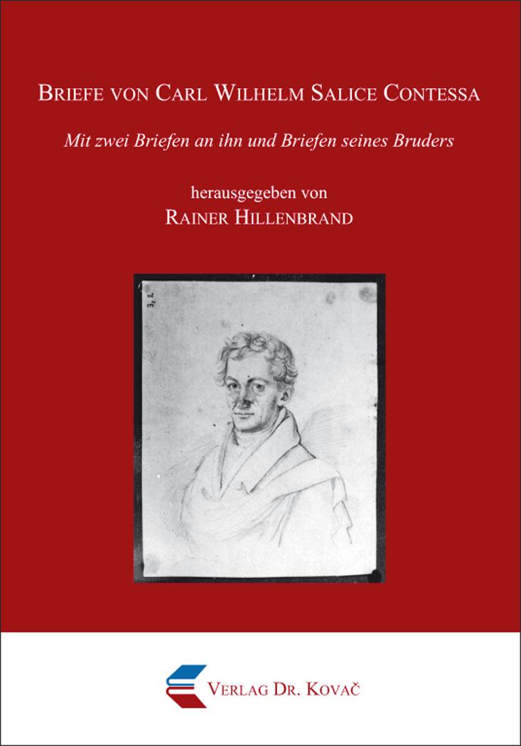 Cover: Briefe von Carl Wilhelm Salice Contessa