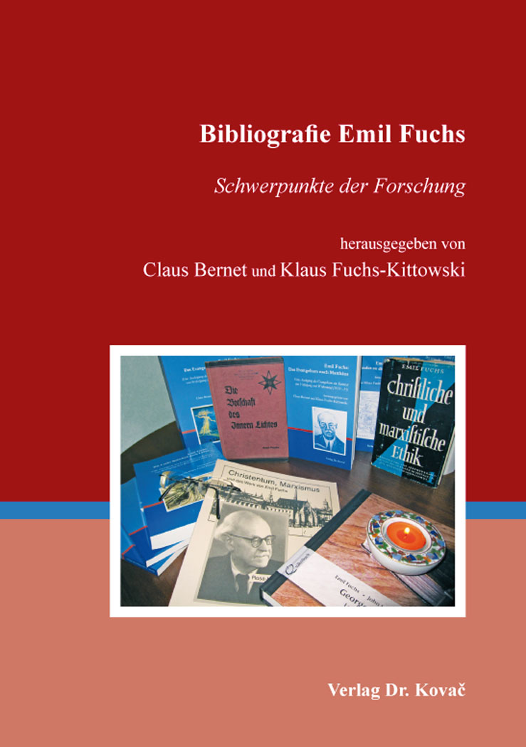 Cover: Bibliografie Emil Fuchs