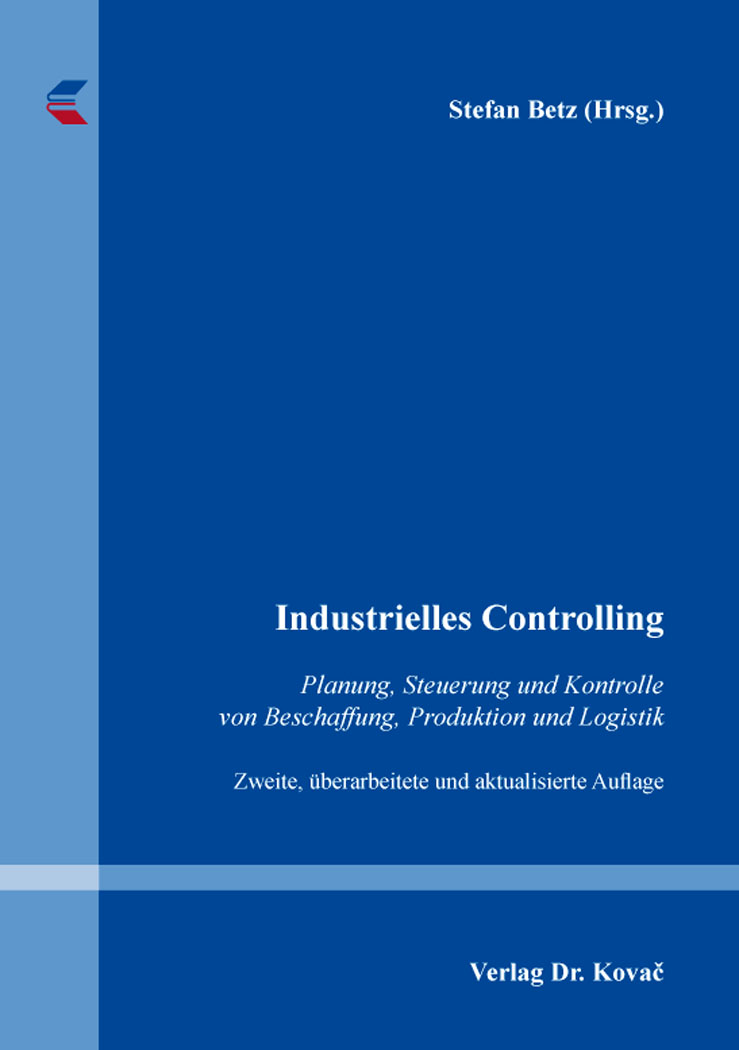 Cover: Industrielles Controlling