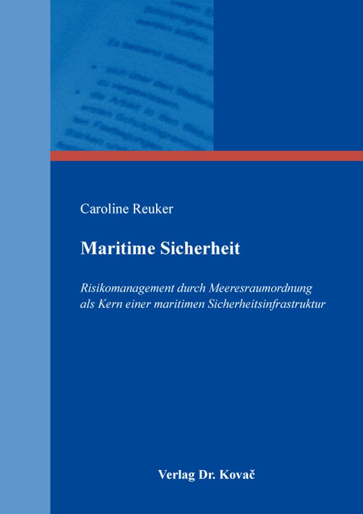 Cover: Maritime Sicherheit