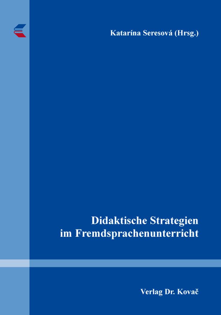 Cover: Didaktische Strategien im Fremdsprachenunterricht