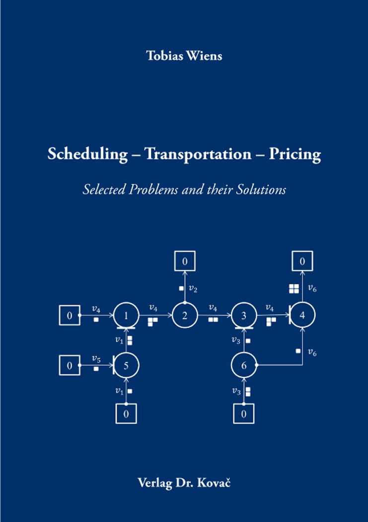 Cover: Scheduling – Transportation – Pricing