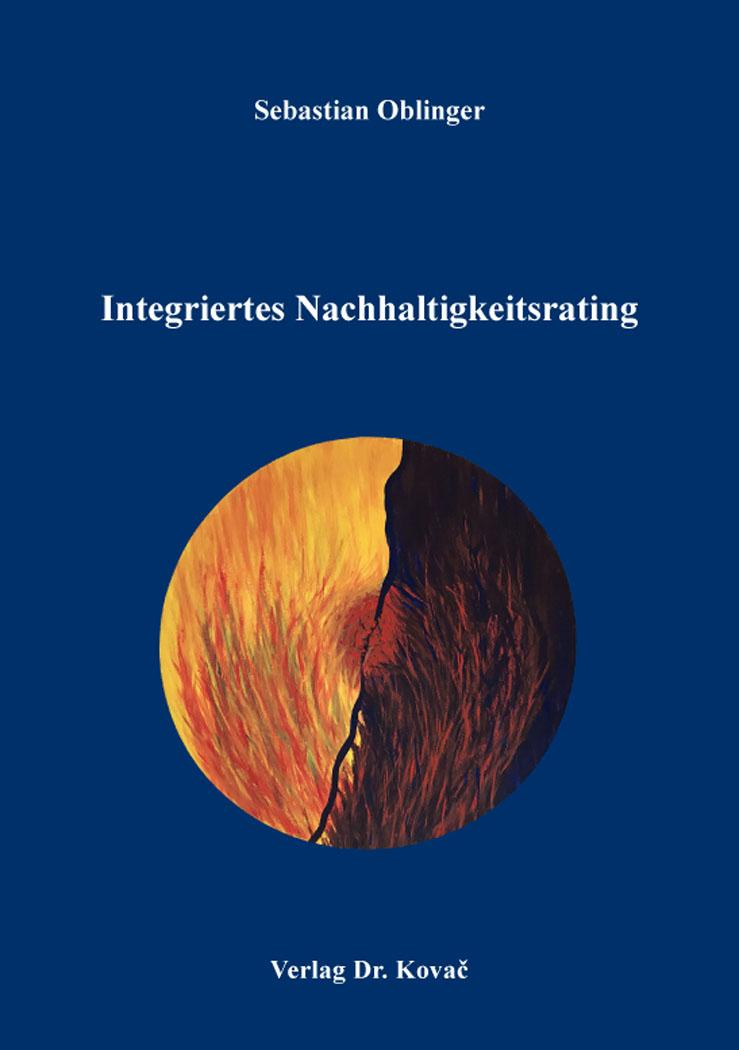 Cover: Integriertes Nachhaltigkeitsrating