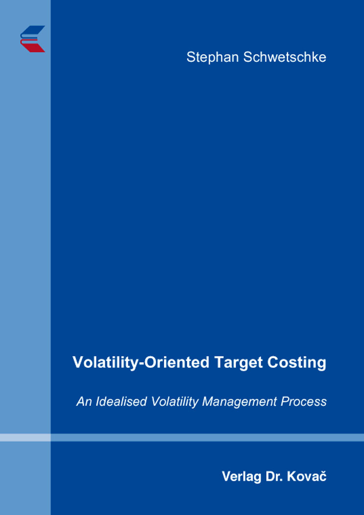 Cover: Volatility-Oriented Target Costing