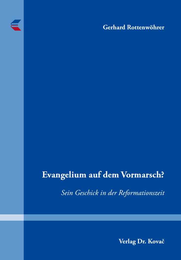 Cover: Evangelium auf dem Vormarsch?