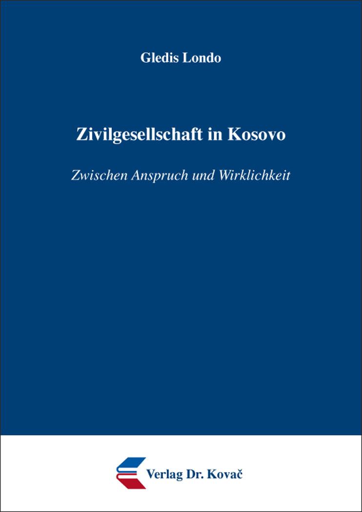 Cover: Zivilgesellschaft in Kosovo