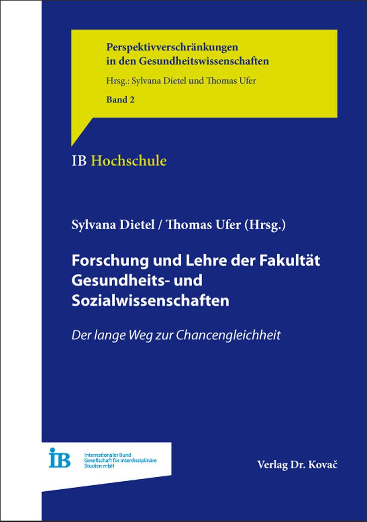 Cover: Forschung und Lehre der Fakultät Gesundheits- und Sozialwissenschaften