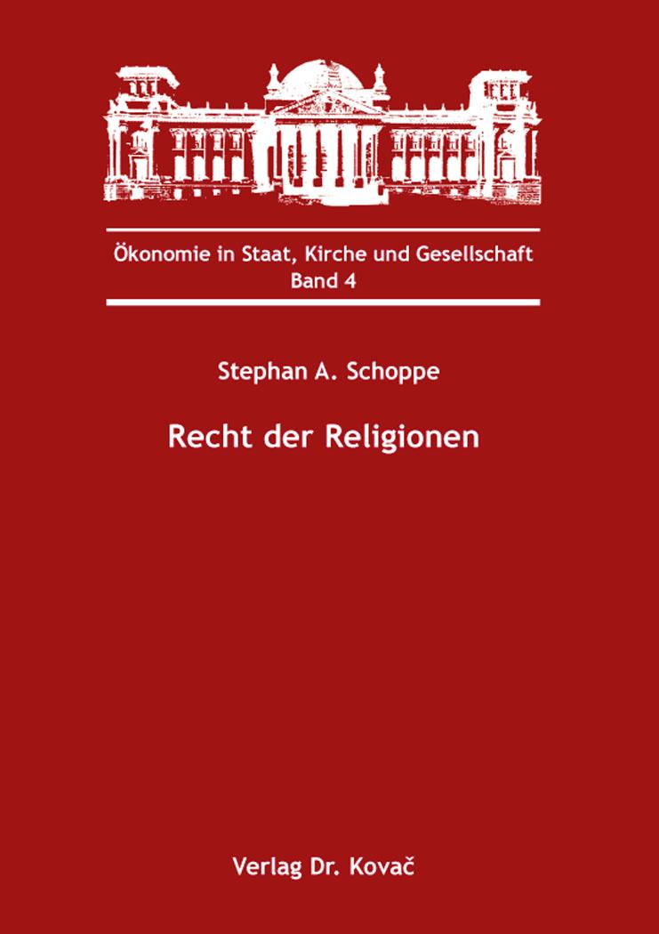 Cover: Recht der Religionen