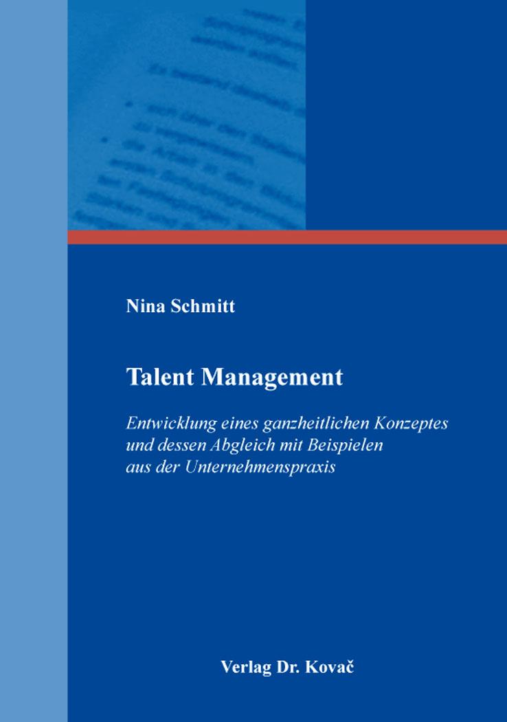 Cover: Talent Management