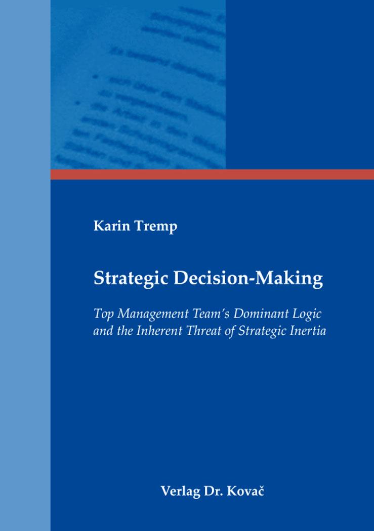 Cover: Strategic Decision-Making