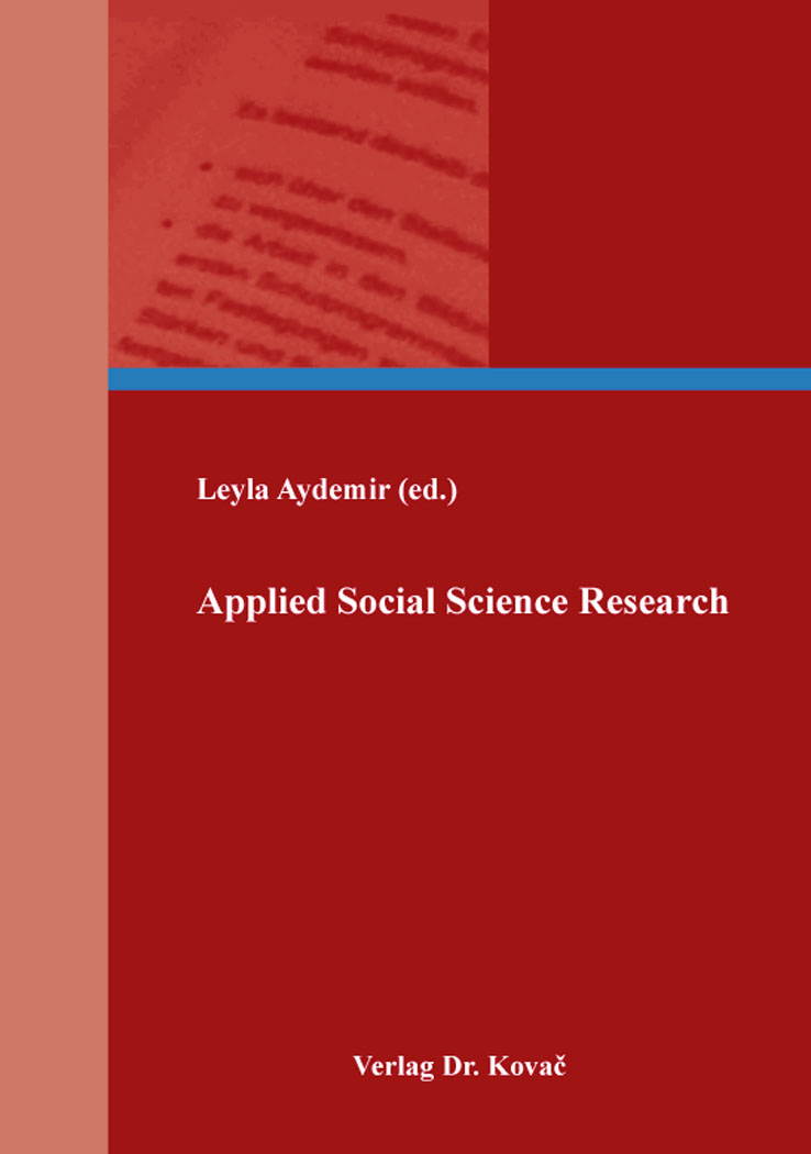 Cover: Applied Social Science Research