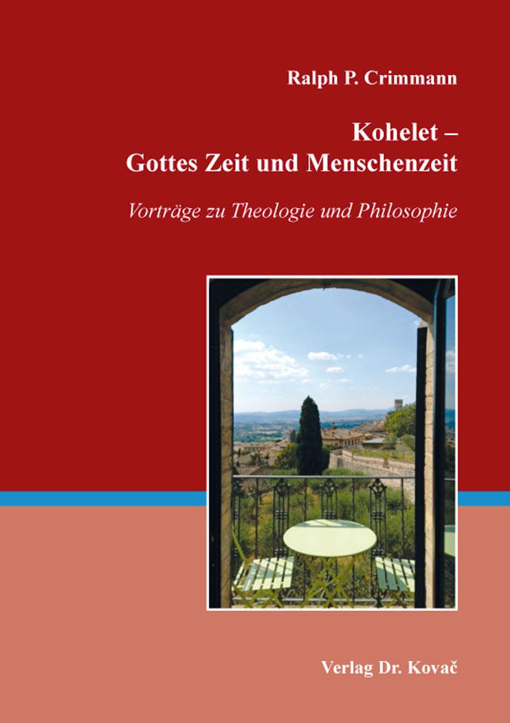 Cover: Kohelet – Gottes Zeit und Menschenzeit