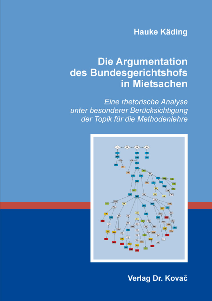 Cover: Die Argumentation des Bundesgerichtshofs in Mietsachen