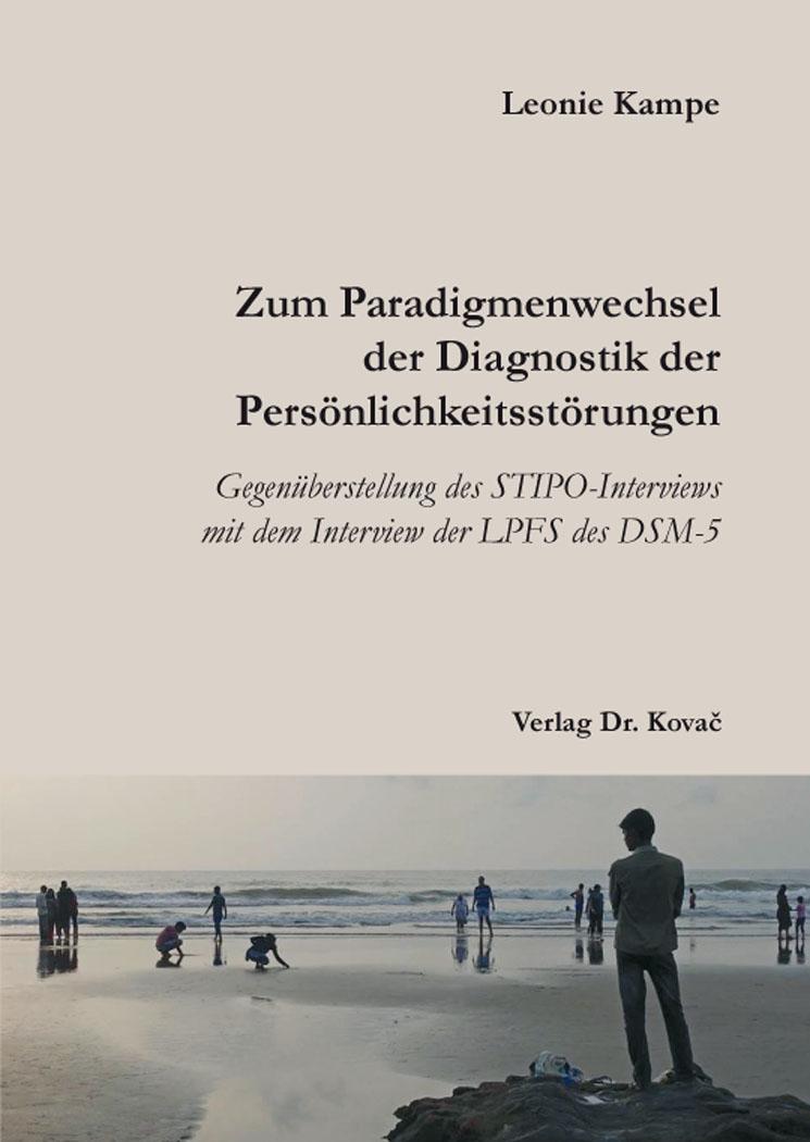 Cover: Zum Paradigmenwechsel der Diagnostik der Persönlichkeitsstörungen