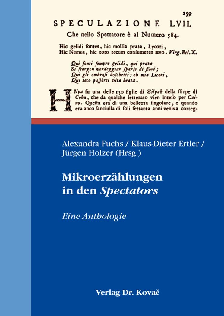 Cover: Mikroerzählungen in den Spectators