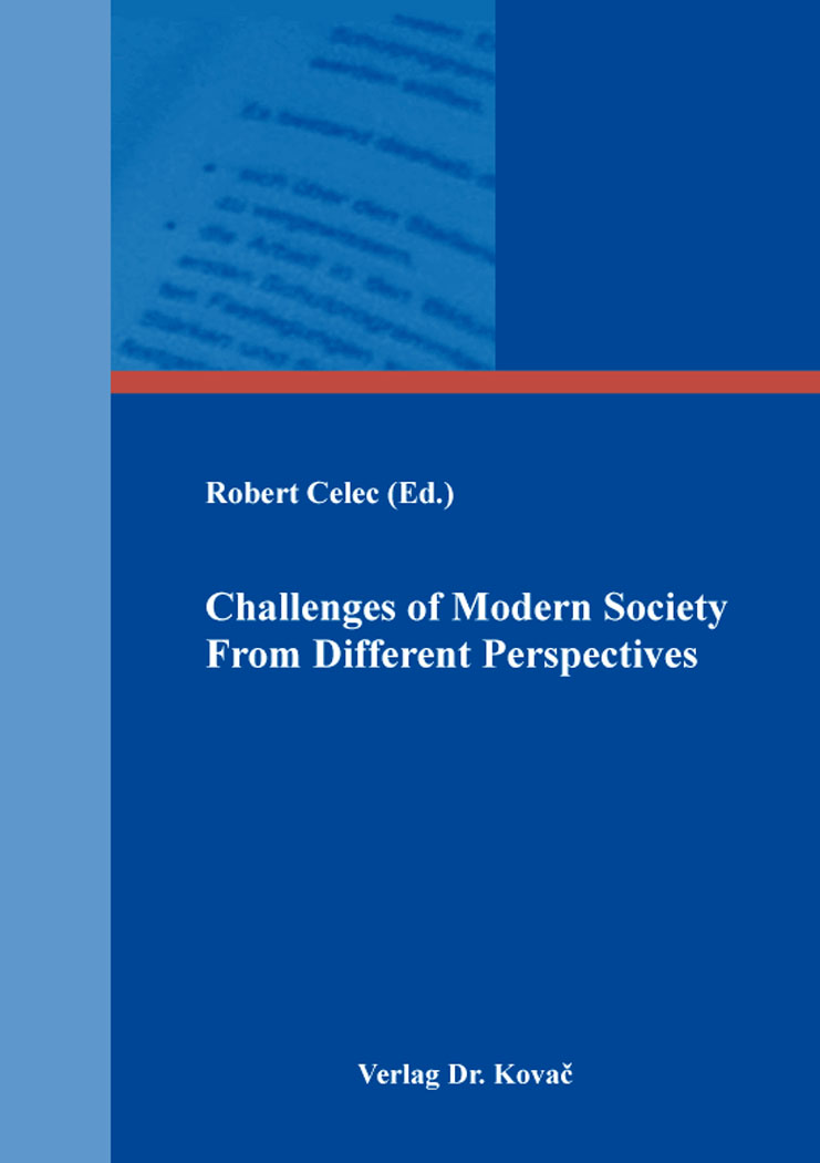 Cover: Challenges of Modern Society From Different Perspectives