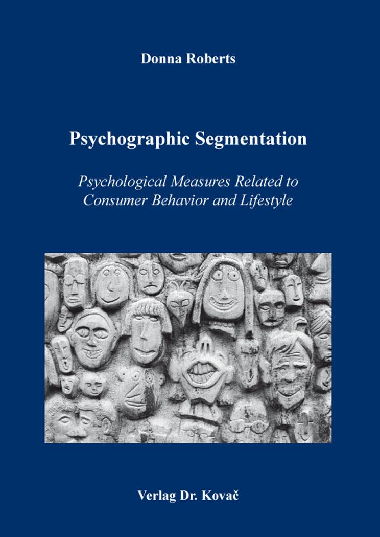 Cover: Psychographic Segmentation