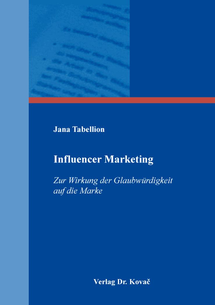Cover: Influencer Marketing