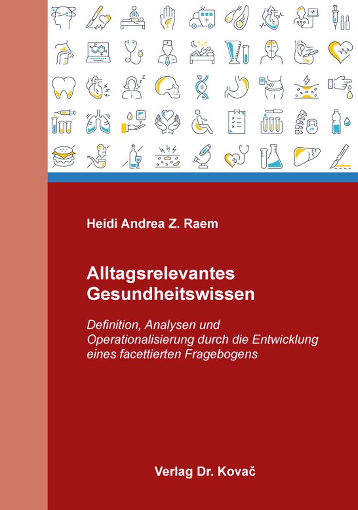 Cover: Alltagsrelevantes Gesundheitswissen