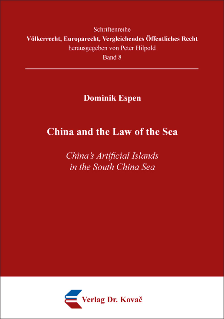 Cover: China and the Law of the Sea