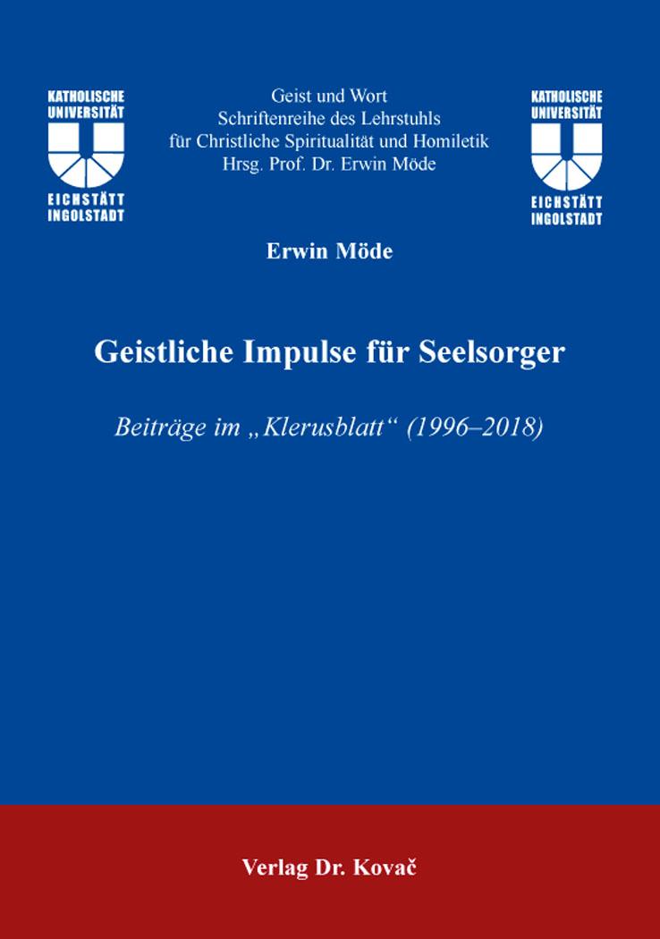 Cover: Geistliche Impulse für Seelsorger
