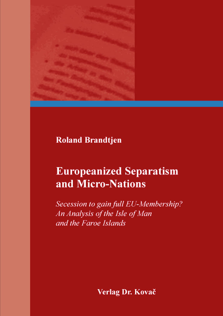 Cover: Europeanized Separatism and Micro-Nations