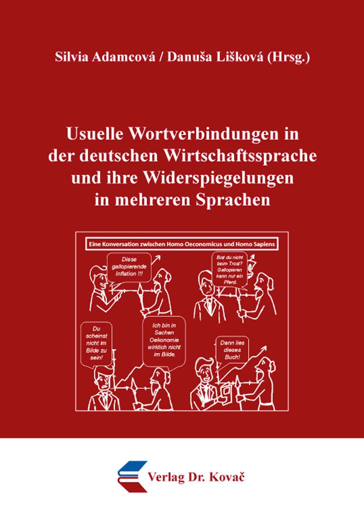 Cover: Usuelle Wortverbindungen in der deutschen Wirtschaftssprache und ihre Widerspiegelungen in mehreren Sprachen
