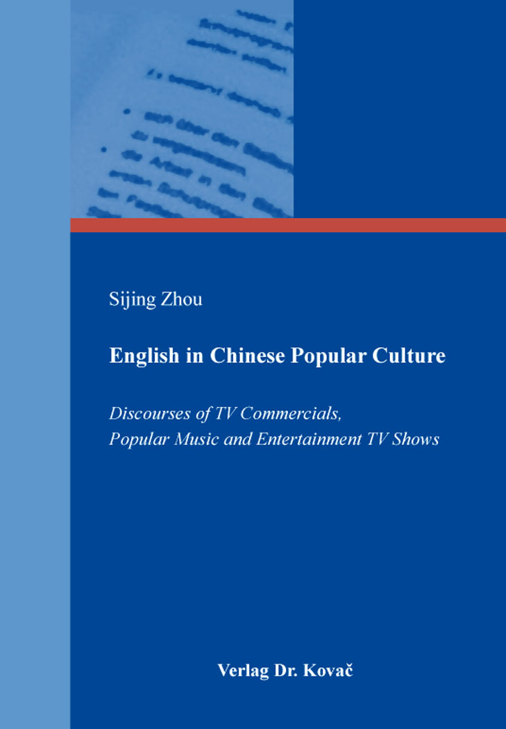 Cover: English in Chinese Popular Culture