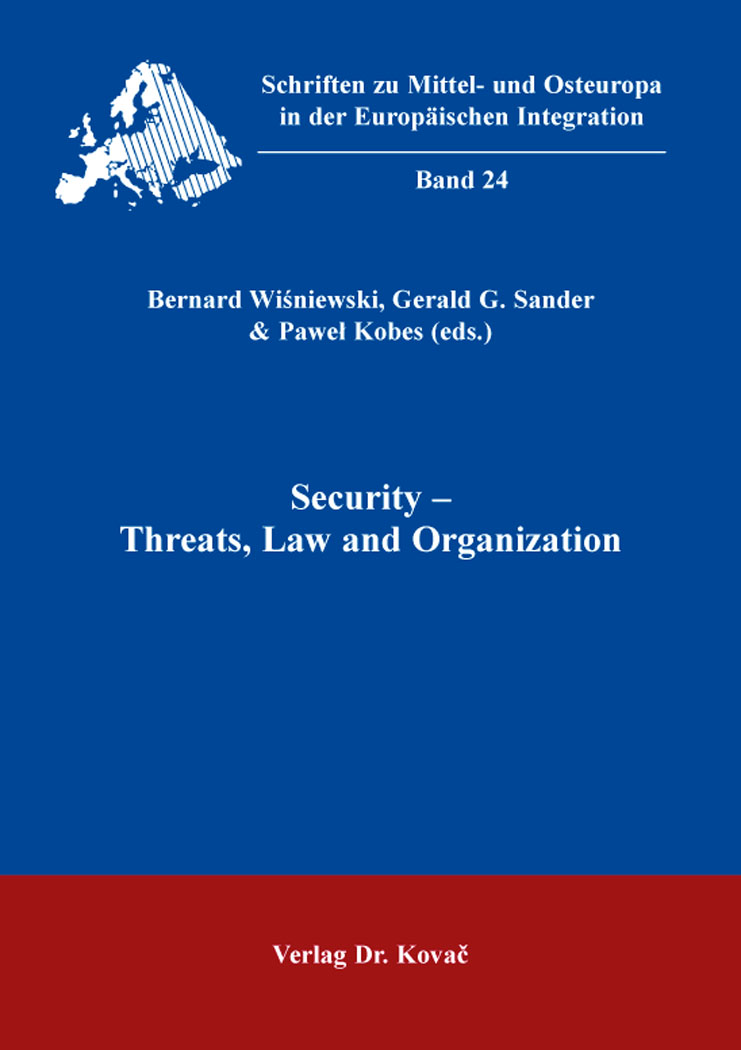 Cover: Security – Threats, Law and Organization