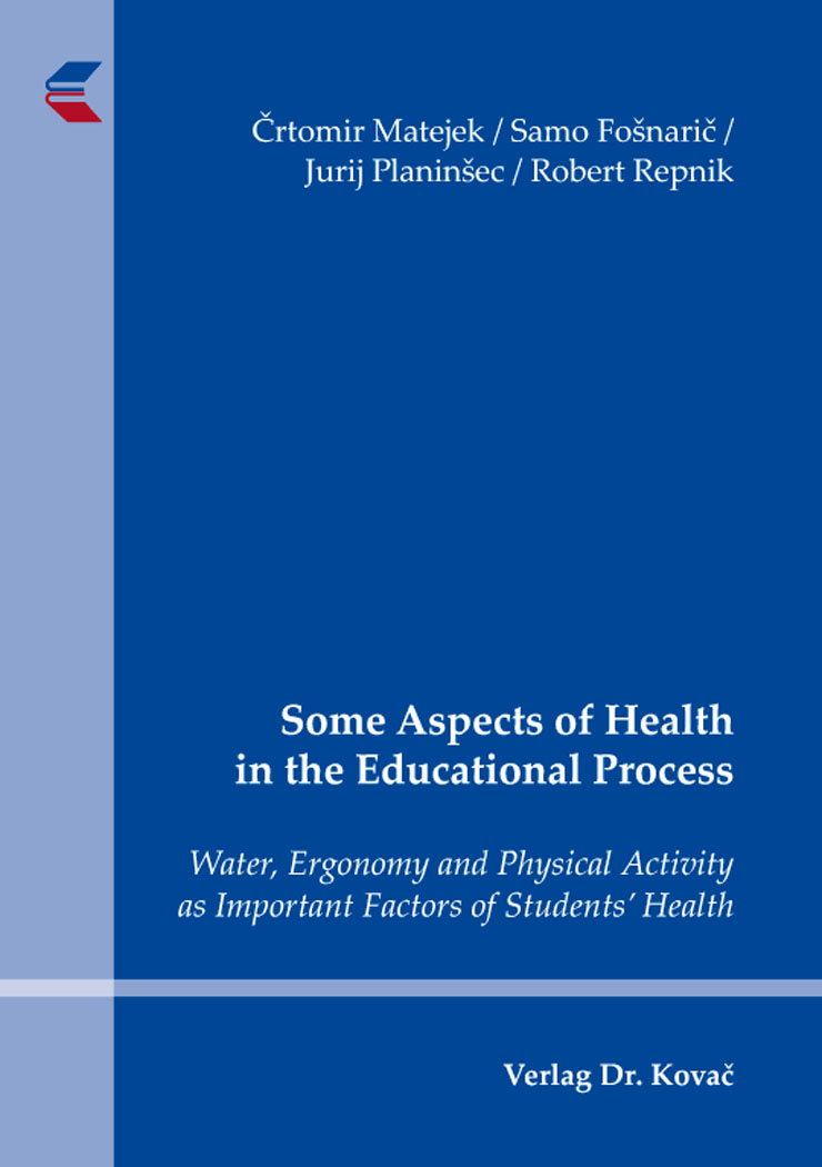 Cover: Some Aspects of Health in the Educational Process