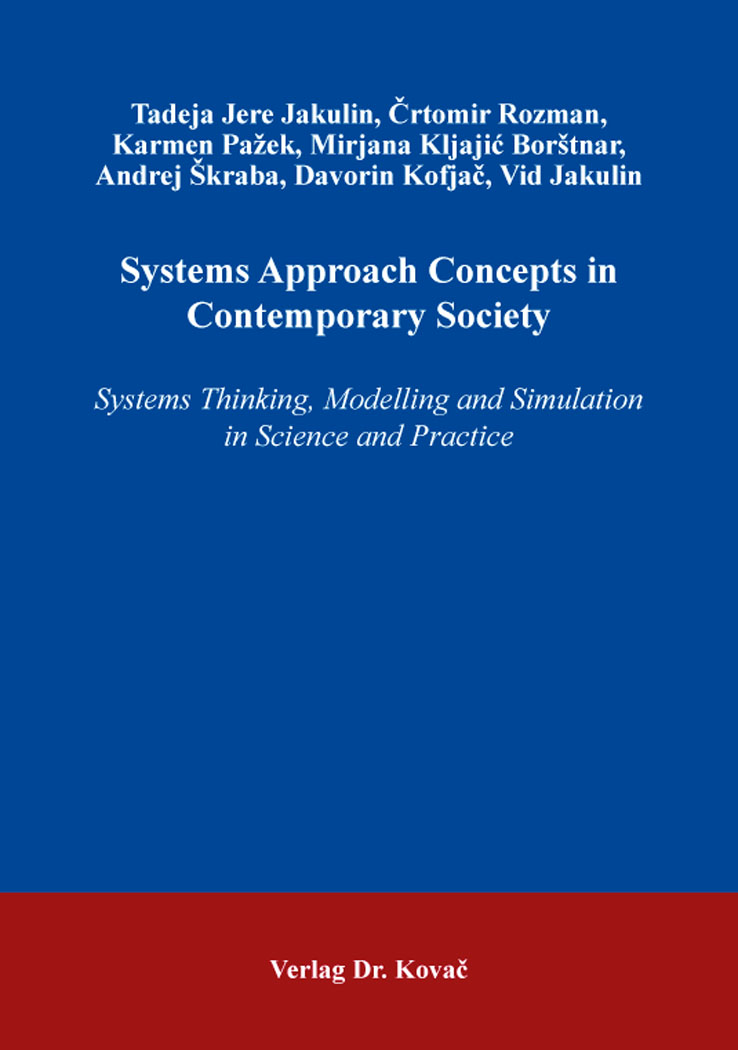 Cover: Systems Approach Concepts in Contemporary Society