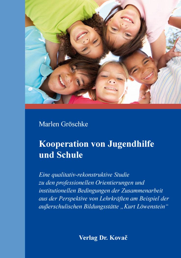 Cover: Kooperation von Jugendhilfe und Schule