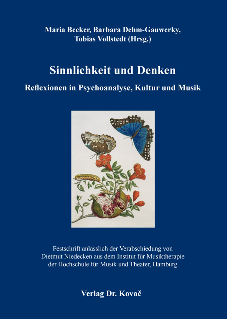 Cover: Sinnlichkeit und Denken