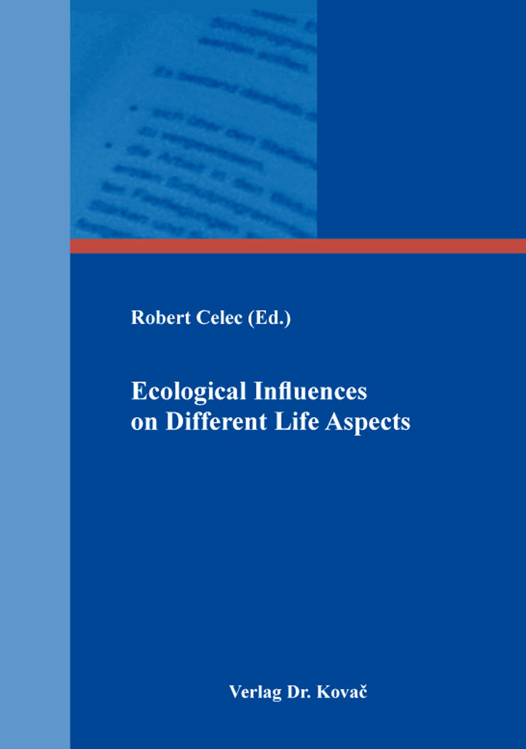 Cover: Ecological Influences on Different Life Aspects
