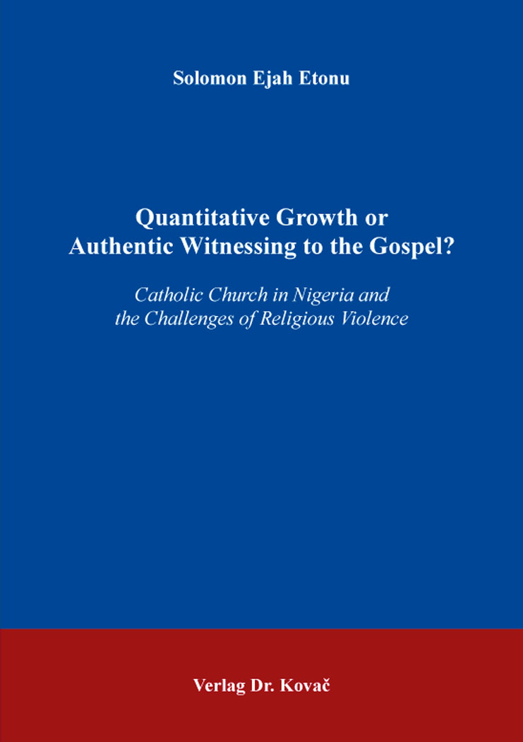 Cover: Quantitative Growth or AuthenticWitnessing to the Gospel?