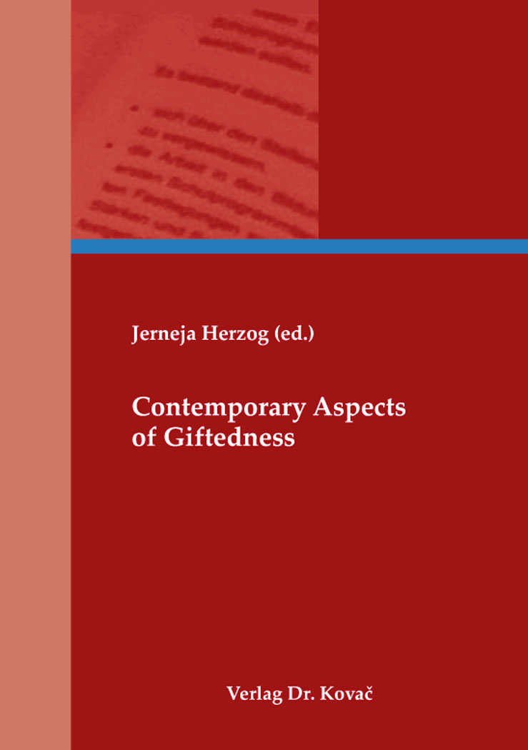 Cover: Contemporary Aspects of Giftedness