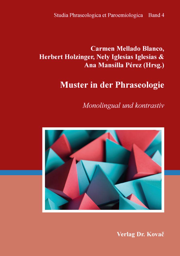 Cover: Muster in der Phraseologie