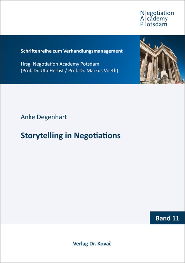 Cover: Storytelling in Negotiations