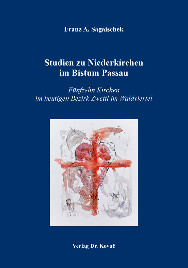 Cover: Studien zu Niederkirchen im Bistum Passau