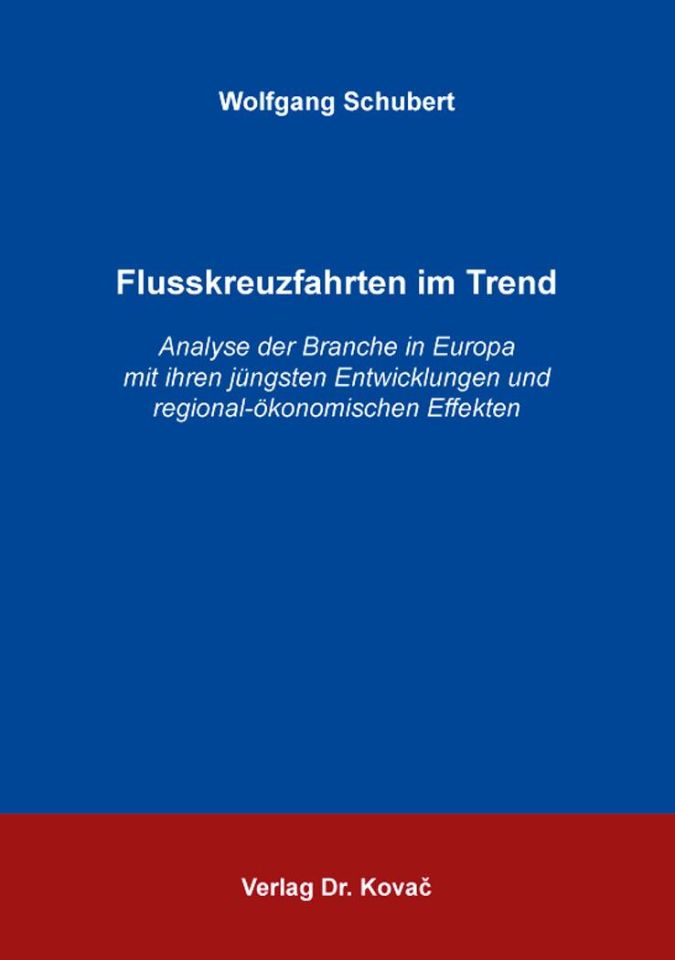 Cover: Flusskreuzfahrten im Trend
