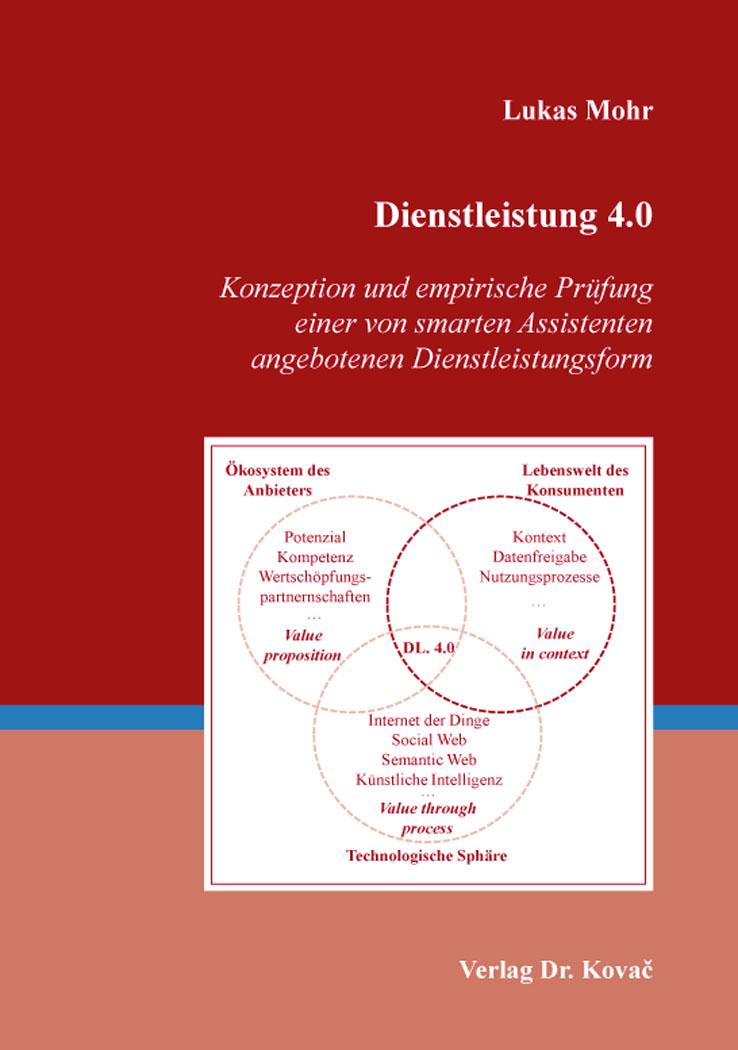 Cover: Dienstleistung 4.0