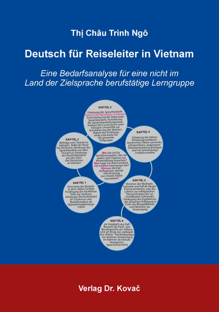 Cover: Deutsch für Reiseleiter in Vietnam
