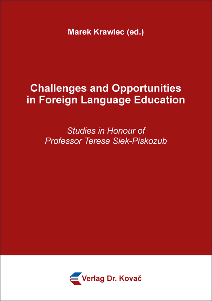 Cover: Challenges and Opportunities in Foreign Language Education