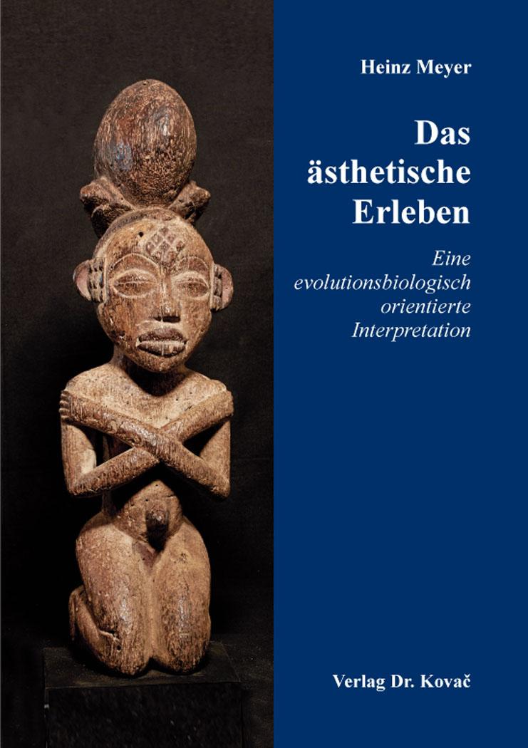 Cover: Das ästhetische Erleben